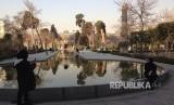Museum Istana Golestan di kota Teheran.