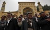 Muslim Cina dari etnis Uighur (ilustrasi)