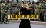 Muslim AS Tolak Pembangunan Hotel di Bekas Masjid Uighur