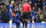Gelandang Chelsea, N'Golo Kante, kembali mengalami cedera.