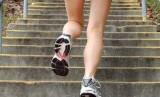 Naik turun tangga menjadi olahraga yang paling efektif membuat tubuh bugar.