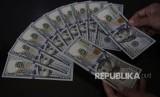 Uang dolar (ilustrasi)