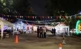 Nonton bareng pembukaan Asian Games di Pasar Akhir Pekan SCBD