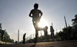 Olahraga lari  (ilustrasi)