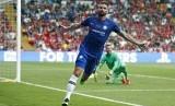 Penyerang Chelsea Olivier Giroud yang diincar Inter Milan dan AC Milan.