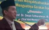 Oman Fathurrahman, Staf Ahli Menteri Agama Lukman Hakim Saifuddin Bidang Manajemen Komunikasi dan Informasi