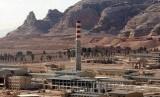 Pabrik pengayaan uranium, di Qom, Iran