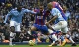 Setelah kena sanksi UEFA, nasib City dipertanyakan bila jadi juara Champion (Foto: pemain manchester city)