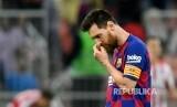Lionel Messi membantah rumor negosiasi kepindahannya dari Inter Milan atau