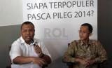 Pakar Komunikasi Politik Hendri Satrio (kiri)