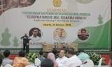 """Pakar Lingkungan Hidup Emil Salim saat menghadiri """"Seminar dan Focus Group Discussion (FGD) Pengembangan dan Pemanfaatan Varietas Lokal Indonesia"""""""