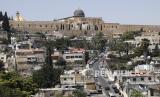 Survei menyebutkan mayoritas warga Israel takut hadapi krisis ekonomi. Pandangan umum lingkungan Palestina di Silwan di Yerusalem timur, terlihat pada hari Rabu, 1 Juli 2020.