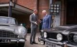 Pangeran Wales mengunjungi Studio Pinewood tempat lokasi syuting James Bond dan bertemu Daniel Craig, (20/6).