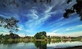 Panorama Situ Gintung Ciputat Tangerang Selatan
