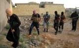 Para militan ISIS (ilustrasi).