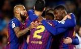 Para pemain Barcelona.