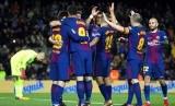 Pemain FC Barcelona (ilustrasi)