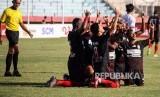 Para pemain pesepak bola Persipura Jayapura. Foto (ILustrasi).