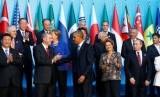 Para pemimpin negara kelompok G-20.