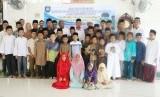 Para peserta dan pengajar program Kampoeng Alquran yang diadakan oleh Impelma Banda Aceh.