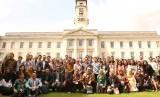 Para peserta, pembicara dan panitia ISIC tahun 2019 berfoto bersama.