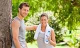 Pasangan berolahraga/ilustrasi