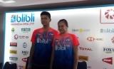 Pasangan Ganda Campuran Indonesia, Praveen Jordan/Melati Daeva Oktavianti di Blibli Indonesia Open 2019, Istora, Senayan Jakarta, Selasa (16/7).