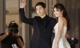 Pasangan Song Joong-ki dan Song Hye-kyo.