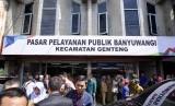 Pasar pelayanan publik pertama resmi dibuka di Banyuwangi, Jawa Timur  (Jatim).