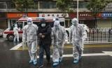Pasien terjangkit virus corona di Wuhan