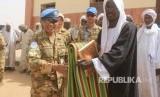 Pasukan Garuda Darfur Meresmikan Masjid di Sudan.