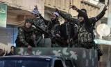 Pasukan Kurdi yang bertempur melawan militan ISIS.