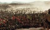 Pasukan Muslim dipimpin Salahuddin mengepung Pasukan Salib di Lembah Hittin