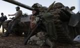 Pasukan Pembebasan Suriah (FSA) yang tengah berjuang melawan pasukan presiden Suriah, Bashar Al Assad.