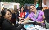 Paviliun Indonesia pada Konferensi Perubahan Iklim (COP) 24, Katowice, Polandia.