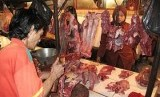 Pedagang daging sapi, ilustrasi