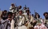 Pertukaran tawanan Afghanistan-Taliban digelar meski tengah lockdown. Ilustrasi milisi Taliban.