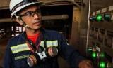 Pekerja PT Vale Indonesia di area produksi