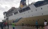 Pelni siap sediakan hotel terapung menyambut PON 2020. Foto Kapal Pelni bersandar di Pelabuhan Jayapura, (ilustrasi).