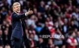 Pelatih Arsenal Arsene Wenger.