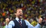 Pelatih Inggris Gareth Southgate meluapkan kebahagiaan setelah Inggris melaju ke babak 16 besar usai melawan Kolombia, Rabu (3/7), di Moskow, Rusia.