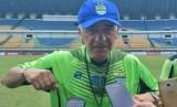 Pelatih Persib Mario Gomez.