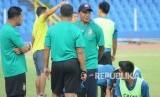Pelatih Sriwijaya FC Rahmad Darmawan.
