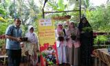 Pelatihan wirausaha dari Rumah Zakat bersama ZIS Indosat.