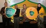Peluncuran asuransi Sun Life Salam Proteksi Amanah di Jakarta, Kamis (16/5).