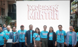 Peluncuran trailer dan poster film Toko Barang Mantan, Jakarta, Selasa.
