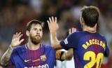 Sergi Roberto tak Bisa Membayangkan Barcelona Tanpa Messi