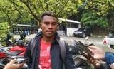 Pemain Persib Bandung, Ardi Idrus di Lapangan Saraga, ITB, Kota Bandung, Rabu (10/4).