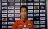 Pemain Persib Bandung, Made Wirawan dalam wawancara daring, Kamis (13/8).