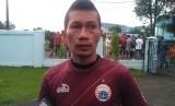 Pemain Persija Jakarta, Ismed Sofyan. Kapten Persija Ismed Sofyan menjalani observasi cara kepelatihan di Deportivo Alaves